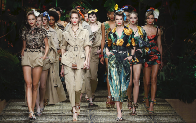 Dolce & Gabbana wiosna-lato 2020: Welcome to the Jungle
