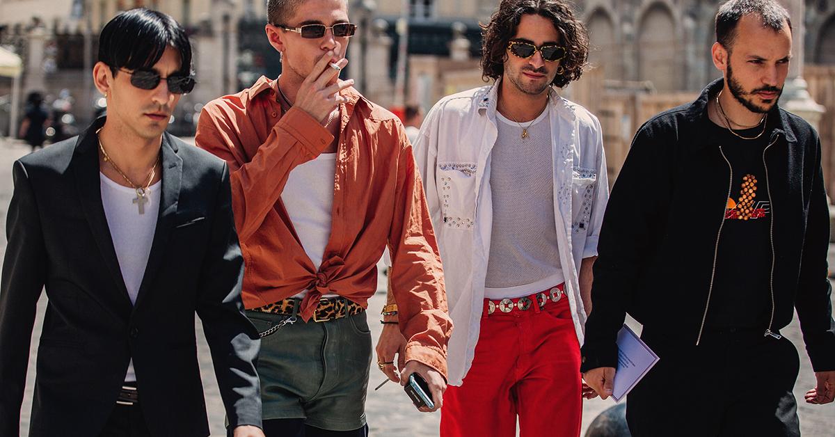 2945298f66 Najciekawsze stylizacje z tygodnia mody męskiej w Paryżu wiosna-lato 2019