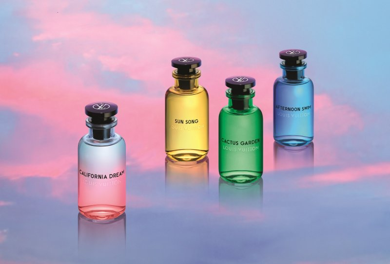 Louis Vuitton California Dream: Cytrusy i kwiaty