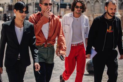 d89f51c7fca43 Najciekawsze stylizacje z tygodnia mody męskiej w Paryżu wiosna-lato 2019