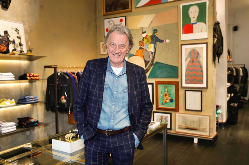 Paul Smith: Still Addicted to the Informal Suit