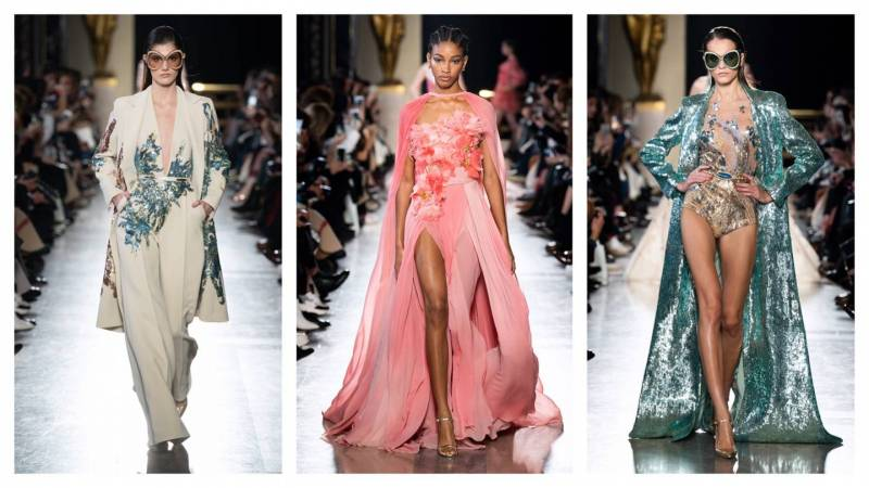 #SuzyCouture: Elie Saab's Caribbean Dream Moves To A Sun-Kissed Beat