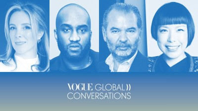 """Vogue Global Conversations"": Virgil Abloh, Stephanie Phair i Remo Ruffini"