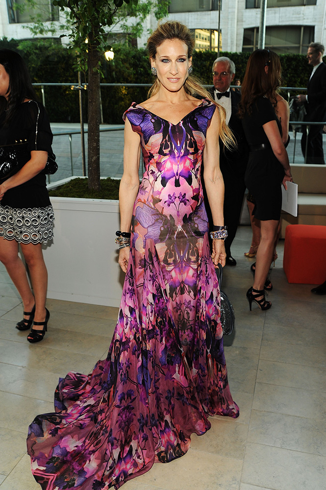 Sarah Jessica Parker na gali CFDA Fashion Awards w 2010 roku, Fot. Getty Images