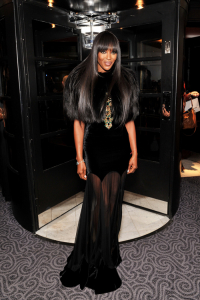 Naomi Campbell na gali British Fashion Awards w 2010 roku, Fot. Getty Images