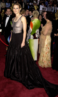Gwyneth Paltrow na gali Oscarów w 2002 roku, Fot. Getty Images