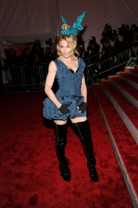Madonna podczas MET Gali w 2009 roku, Fot. Getty Images