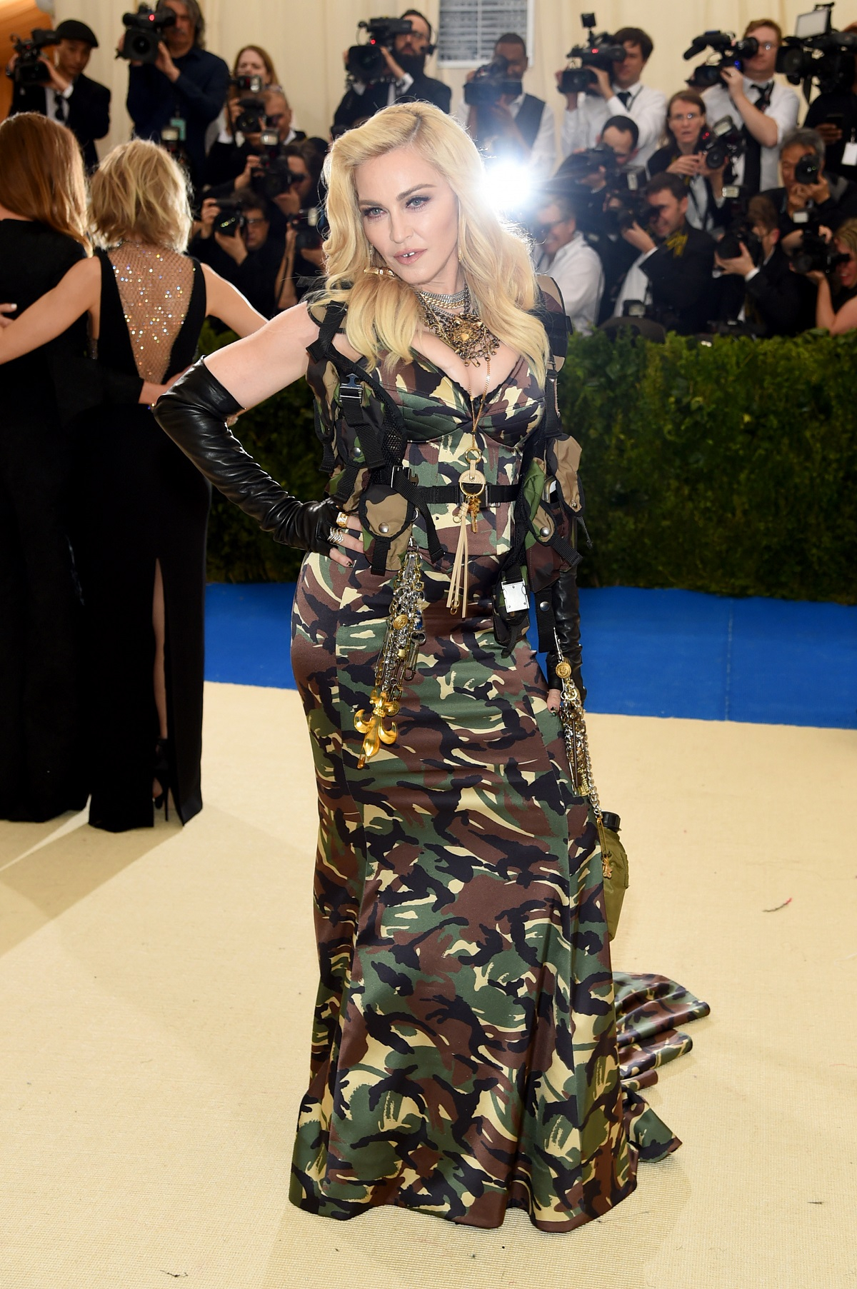Madonna podczas MET Gali w 2017 roku, Fot. Getty Images