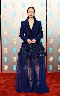 Na rozdaniu nagród  EE British Academy Film Awards w 2019 roku, Fot. Getty Images