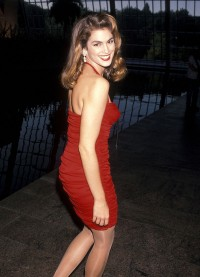 Cindy Crawford, 1990 rok, Fot. Ron Galella, Ltd./Ron Galella Collection via Getty Images