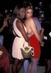 Naomi Campbell i Cindy Crawford, 1991 rok, Fot. Ron Galella, Ltd./Ron Galella Collection via Getty Images