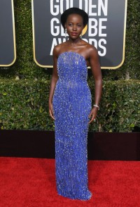 Lupita Nyongo w sukni Calvin Klein By Appointment, fot. Getty Images