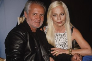 Donatella i Gianni Versace, 1996 rok, Fot. Rose Hartman/Archive Photos/Getty Images