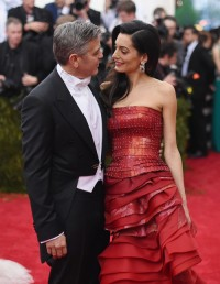 Amal i George Clooneyowie w 2015 roku, Fot. Getty Images