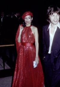 Bianca Jagger, 1974 rok , Fot. Ron Galella, Getty Images