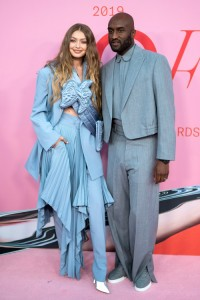 Gigi Hadid i Virgil Abloh (oboje w Louis Vuitton), Fot. Getty Images