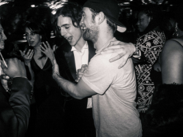Timothée Chalamet i Robert Pattinson, Fot. Jacques Burga