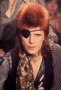 David Bowie na planie Rebel Rebel, 1974 rok , (Fot. Getty Images)