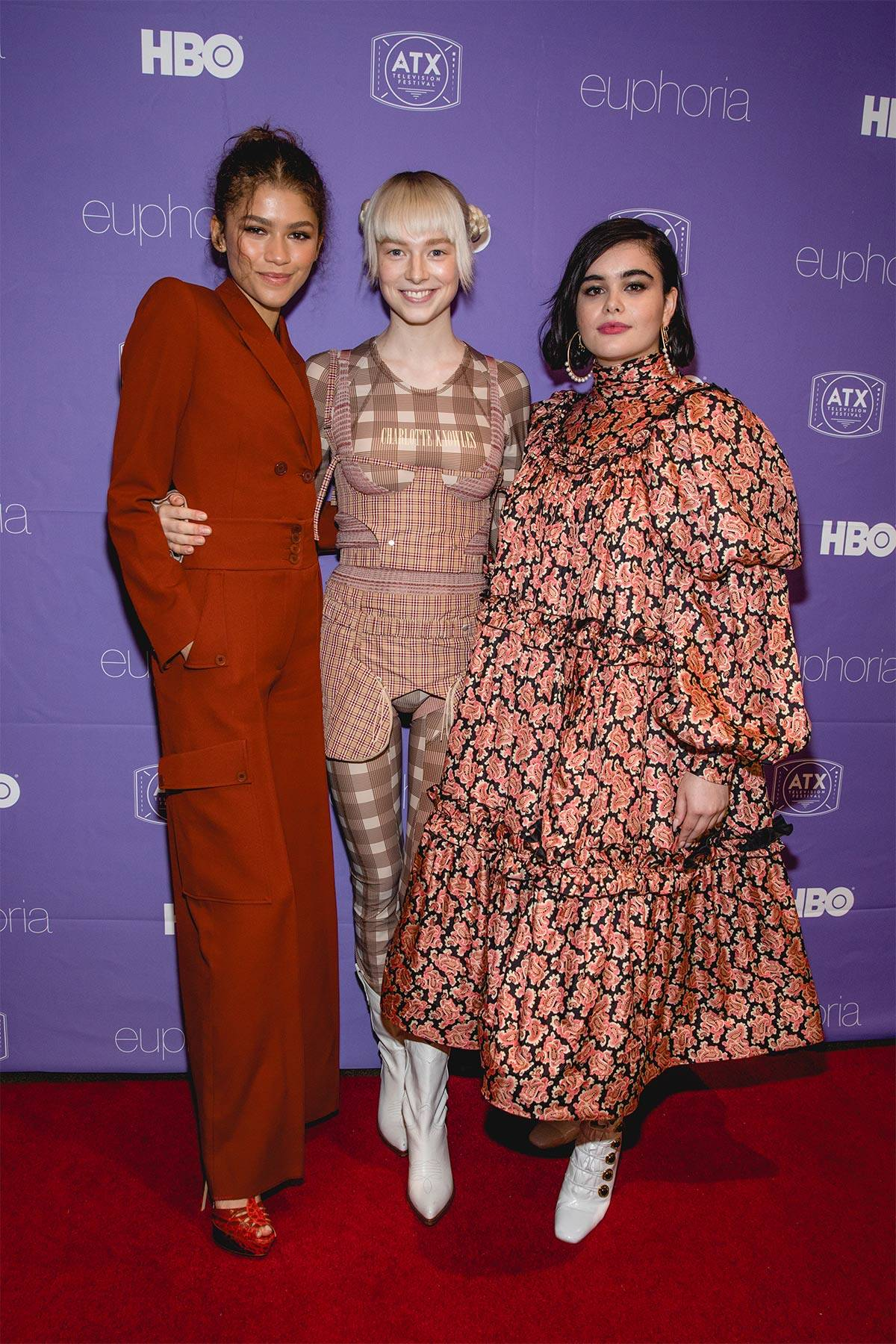 Zendaya, Hunter Schafer i Barbie Ferreira, (Fot. Getty Images)