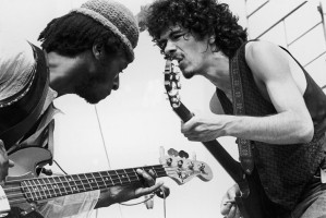 Carlos Santana i David Brown, Fot. Getty Images