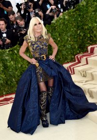 Donatella Versace, John Shearer, Getty Images