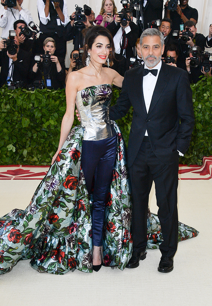 Amal i George Clooney,  George Pimentel, Getty Images