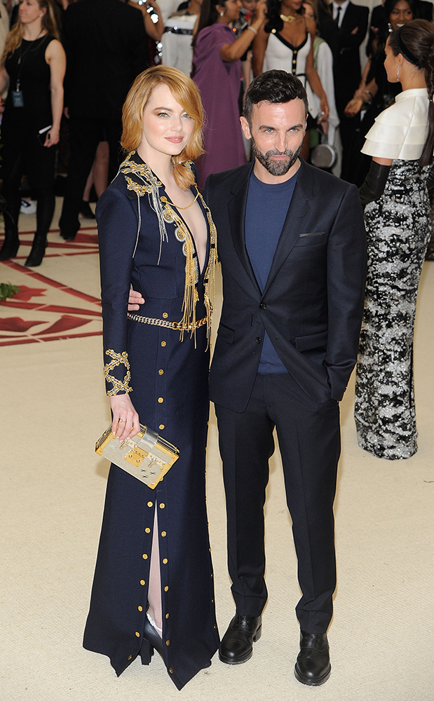Emma Stone i Nicholas Ghesquiere, Rabbani and Solimene Photography, Getty Images