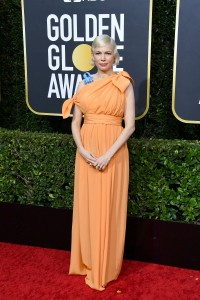 Michelle Williams w sukni Louis Vuitton, Fot. Getty Images