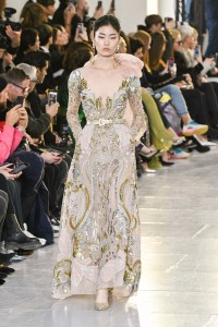 Elie Saab haute couture, (Fot. Getty Images)