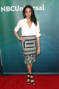 Meghan Markle podczas NBC/Universal 2014 TCA Winter Press Tour w 2014 roku, Fot. Getty Images