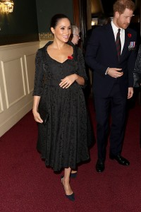Księżna Sussex podczas The Annual Royal British Legion Festival Of Remembrance w 2019 roku, Fot. Getty Images