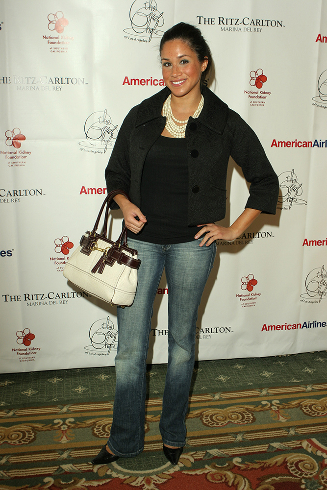 Meghan Markle na evencie The National Kidney Foundation w 2006 roku , Fot. Getty Images