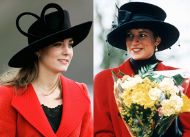 Księżna Cambridge w 2006 roku, Lady Diana w 1993 roku, Fot. Getty Images