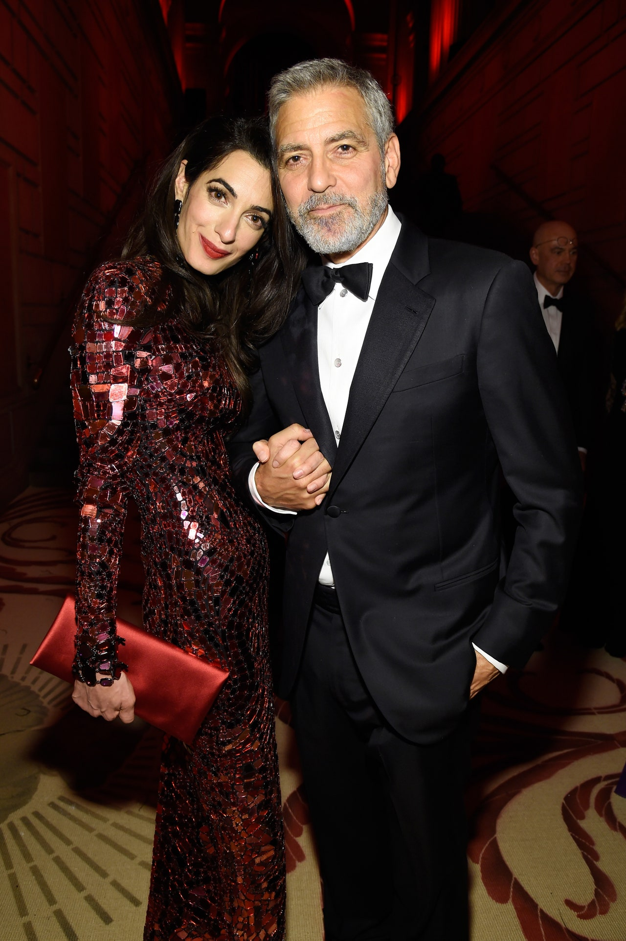 George i Amal Clooneyowie (Fot. Getty Images)