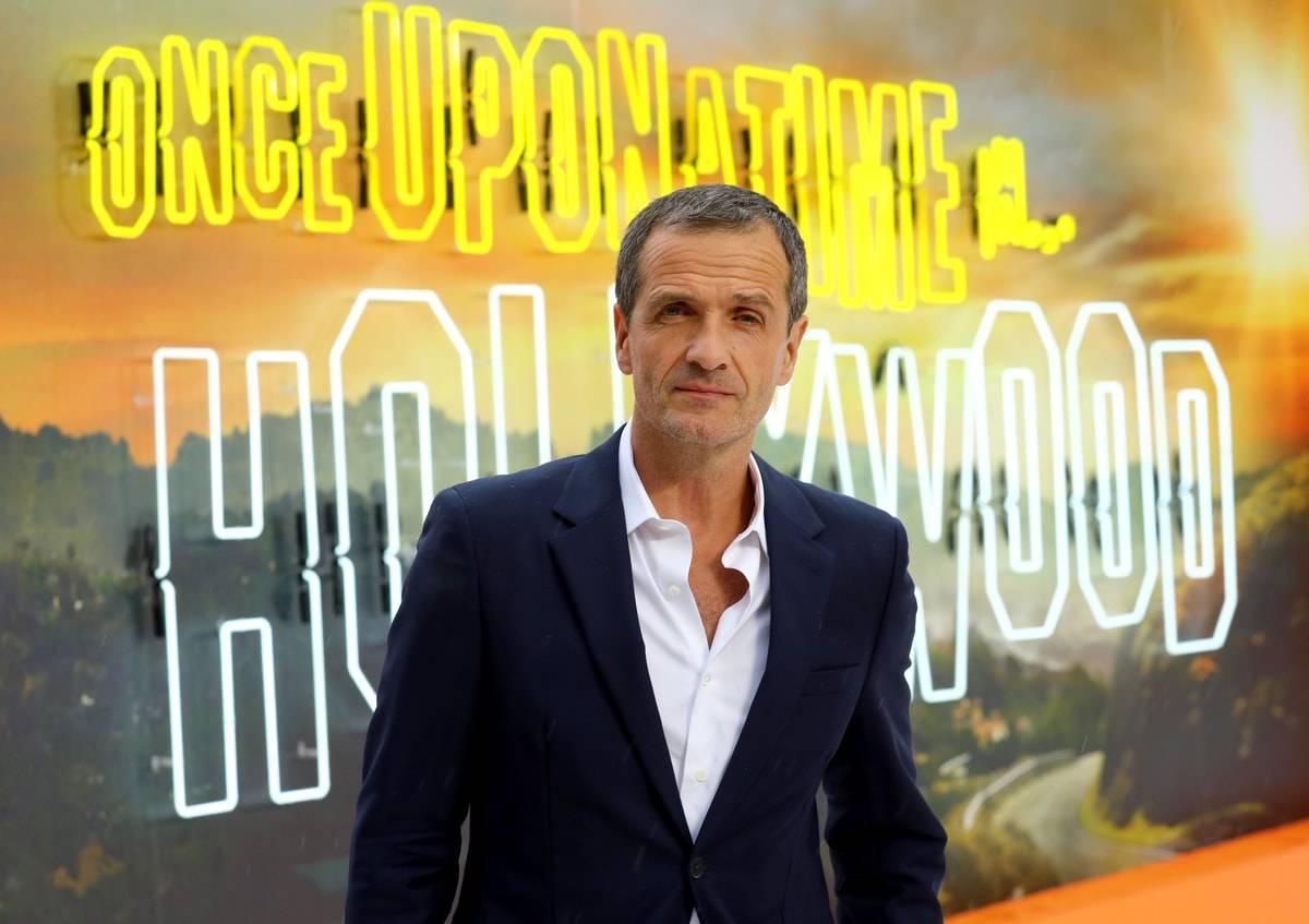 "Producent David Heyman na premierze ""Pewnego razu... w Hollywood"" (Fot. Tim P. Whitby/Getty Images for Sony)"