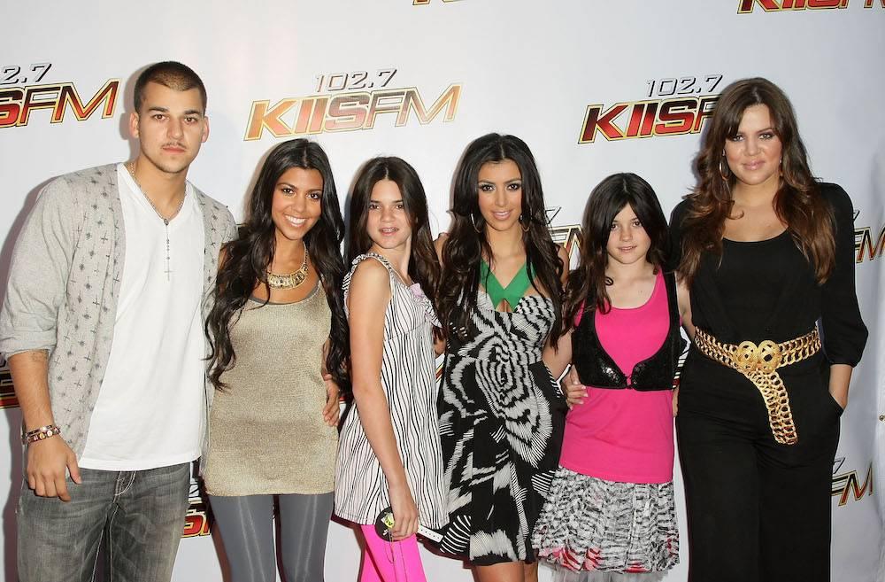 Z rodziną w 2008 roku, najbardziej po prawej(Fot. Getty Images)