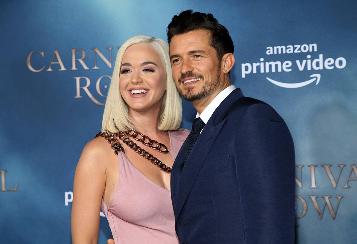 Katy Perry i Orlando Bloom (Fot. Phillip Faraone/Getty Images)