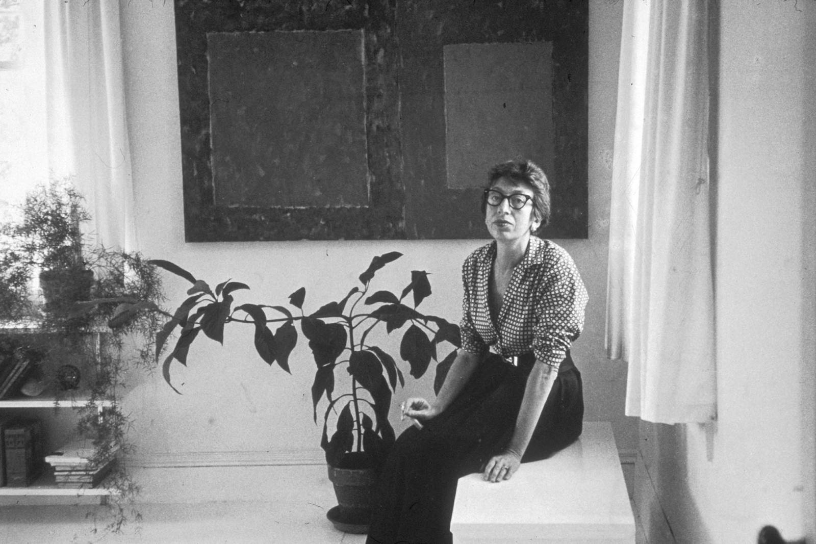 Lee Krasner (Fot. Getty Images)