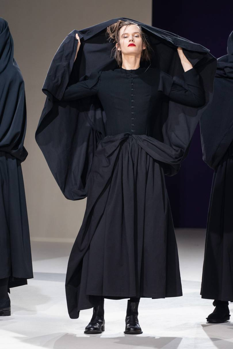 The finale was inspired by 17th century Spanish women. Credit: GORUNWAY