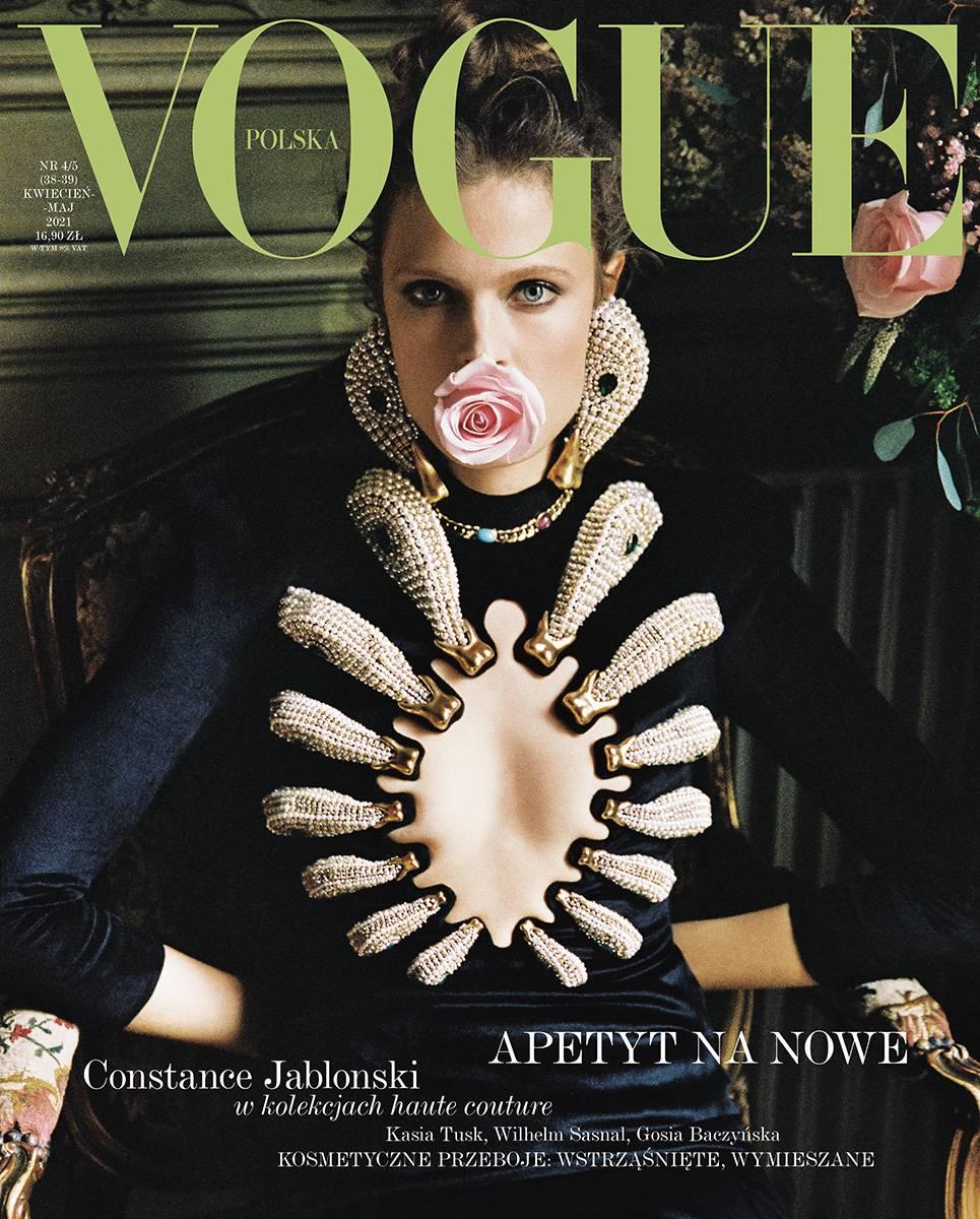 Vogue Polska, kwiecień-maj 202 (Fot. Branislav Simoncik)
