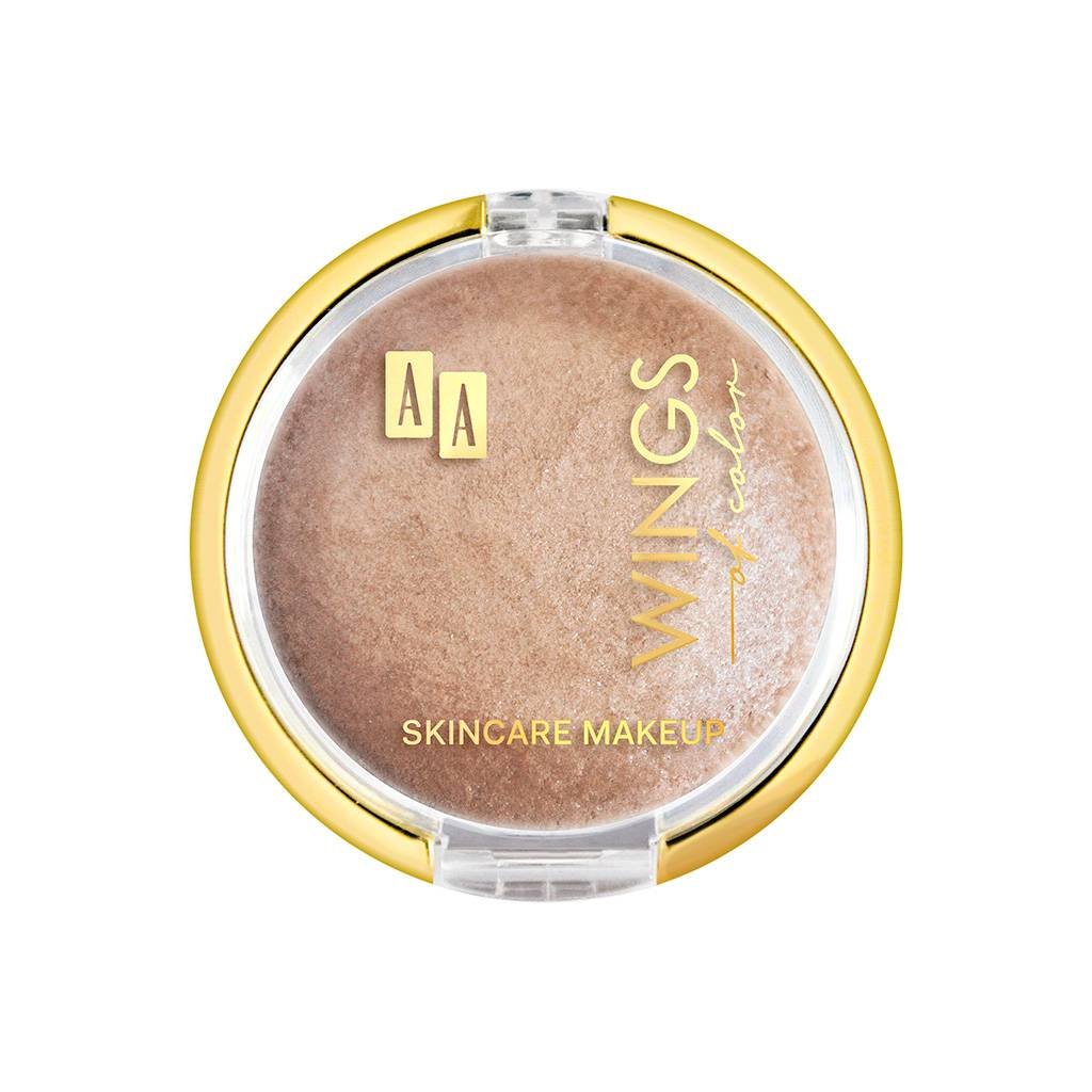 Puder w kamieniu Highlighter Baking 150 Golden Wings of Color AA (Fot. Materiały prasowe)