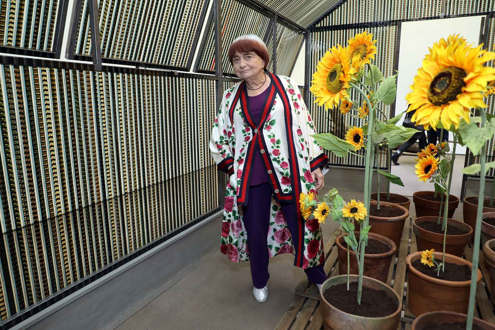 Agnès Varda, Paryż (Fot. Getty Images)