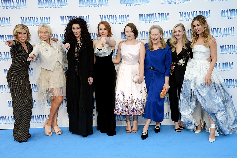 "Premiera filmu ""Mamma Mia!: Here We Go Again"" (Fot. Dave J Hogan, Getty Images)"