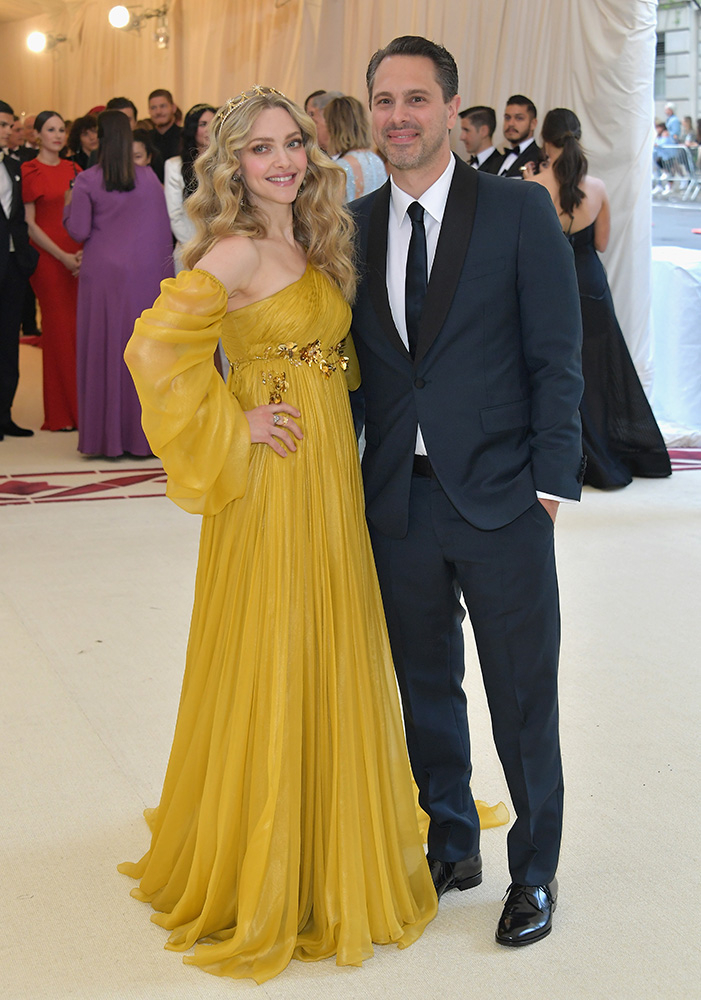 Amanda Seyfried i Thomas Sadosky (Fot. Getty Images)