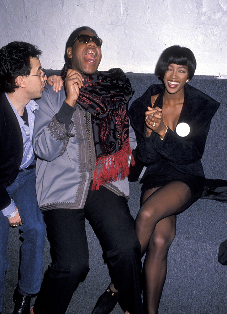 Andre Leon Talley i Naomi Campbell w 1989 roku (Fot. Ron Galella, Ltd., Getty Images)