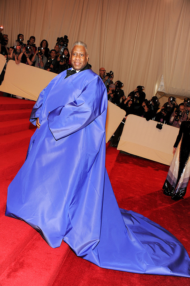 Andre Leon Talley na MET Gali w 2011 roku (Fot. Larry Busacca, Getty Images)