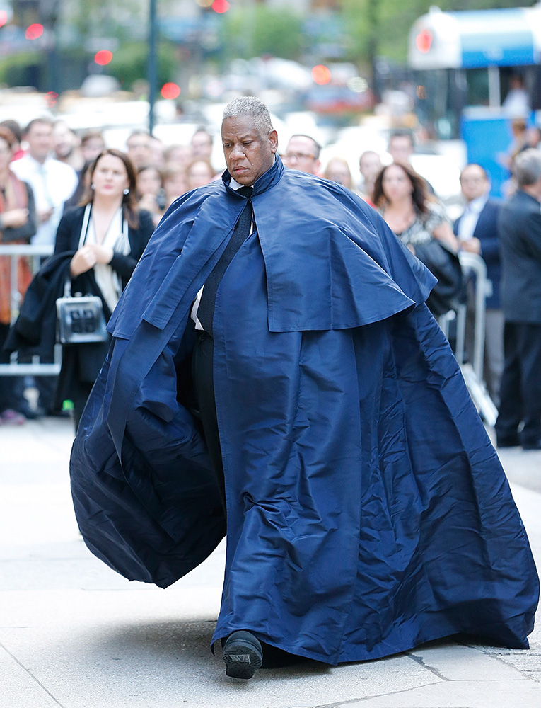 Andre Leon Talley (Fot. John Lamparski, Getty Images)
