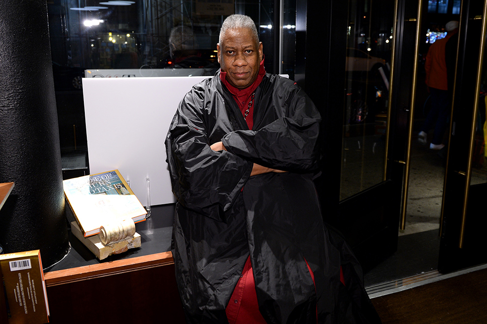 Andre Leon Talley (Fot. Andrew Toth, Getty Images)