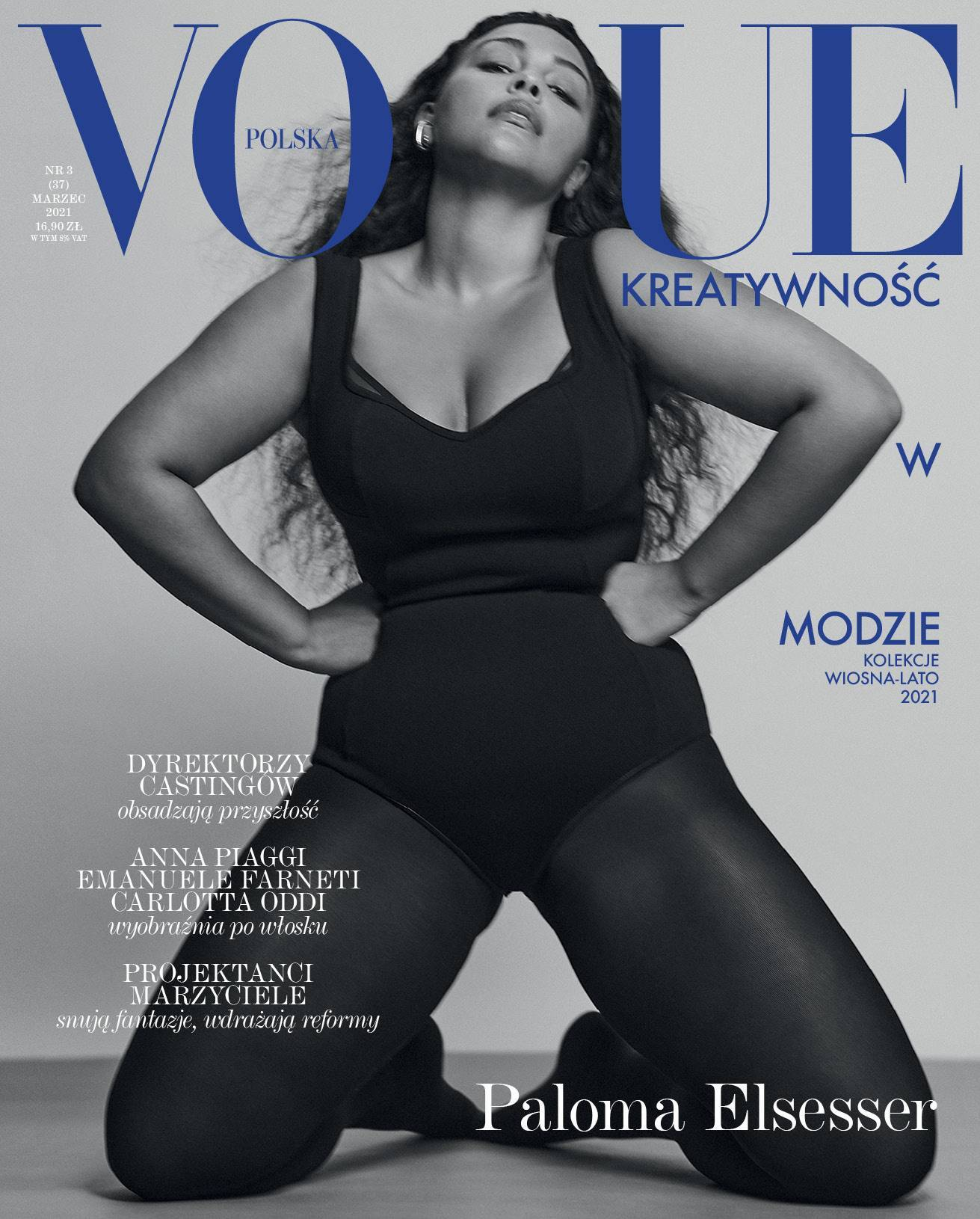 Vogue Polska, marzec 2021 / Fot. Chris Colls