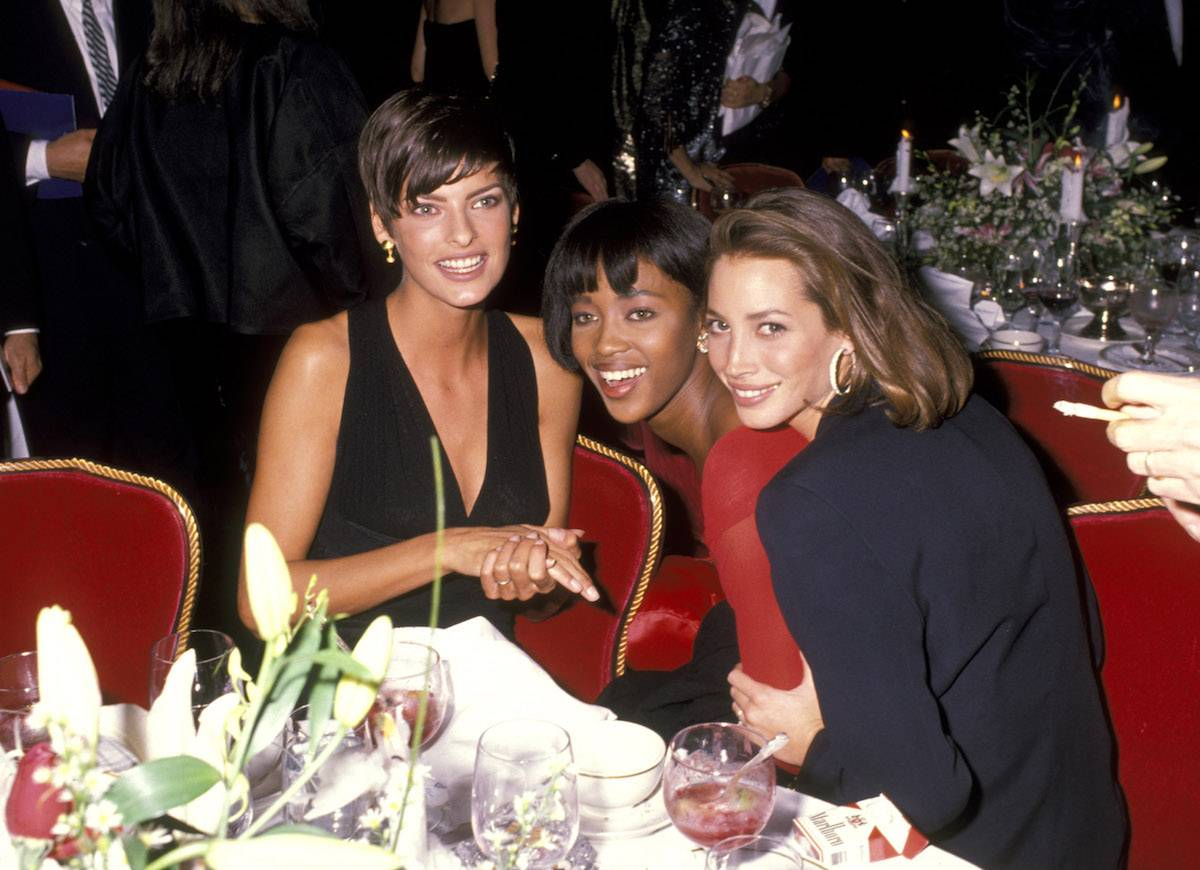Linda Evangelista, Naomi Campbell i Christy Turlington (Fot. Getty Images)